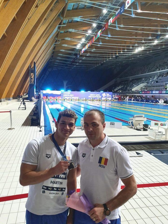 Daniel Martin a castigat la Kazan in proba de 200 metri spate. Succes mondial!