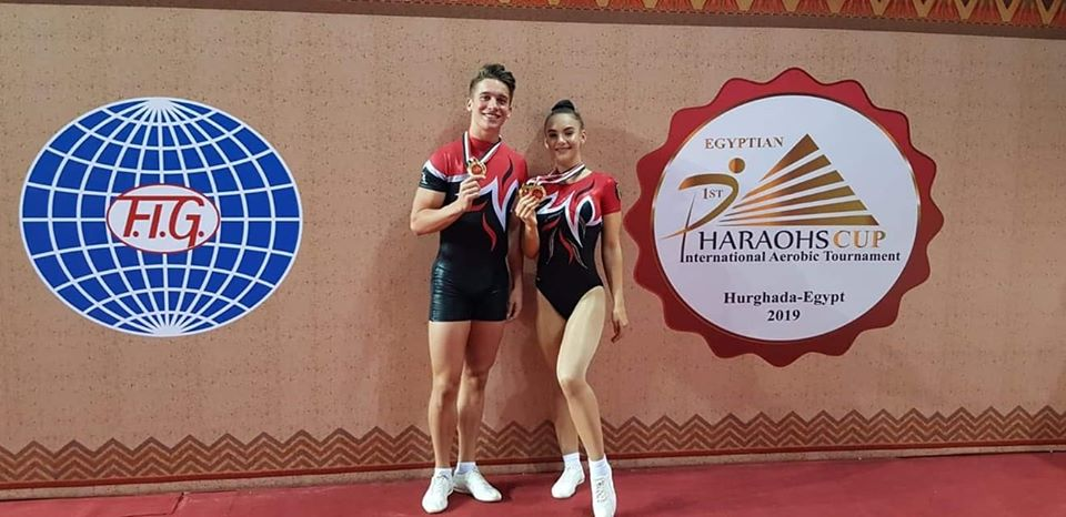 David Gavrilovici de la karate la mutiplu medaliat la gimnastica aerobica