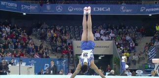 Aradeanul Adelin Kotrong traieste momente dificile in gimnastica