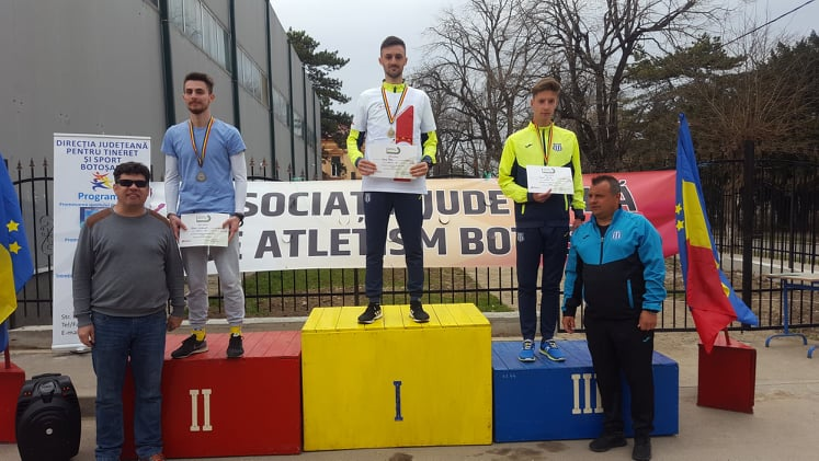 Ionut Plesu nu a mai jucat fotbal ca sa castige medalii in atletism