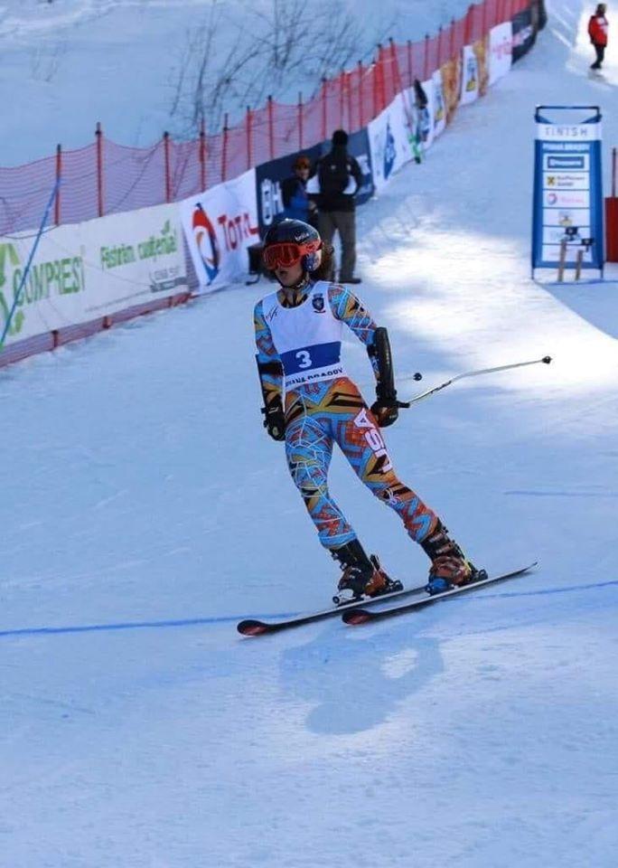 Jennifer Nagy Remetean primeste un premiu special la schi alpin