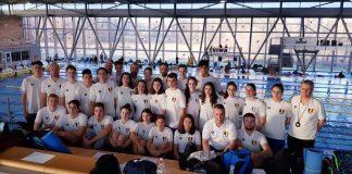 Trei tineri inotatori, Stancu, Iacob si Popovici fac recorduri pentru Romania