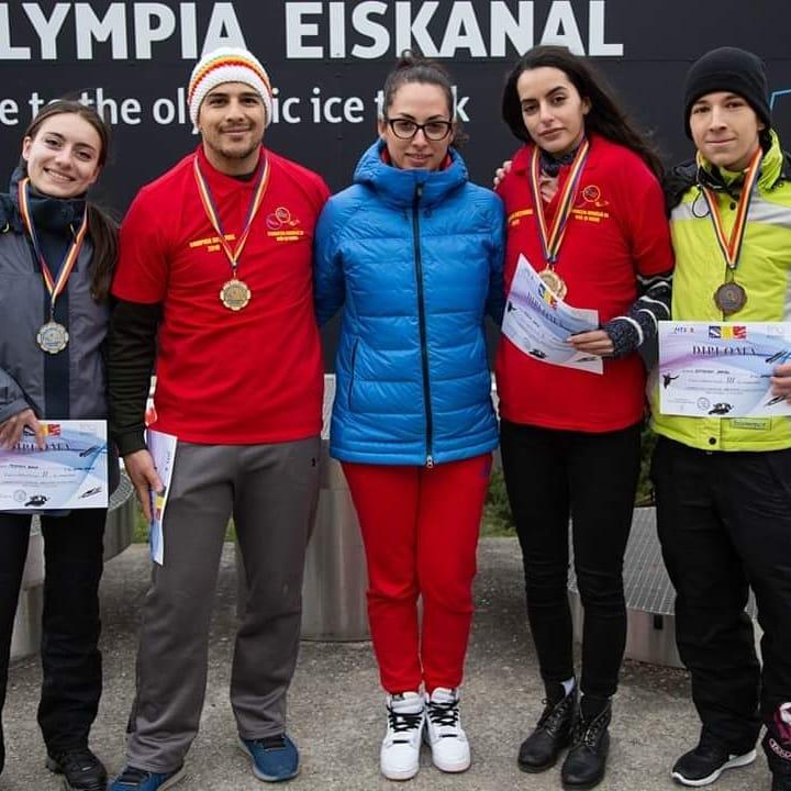 Titluri la skeleton! Vatra Dornei este in top! Medalii castigate in Austria