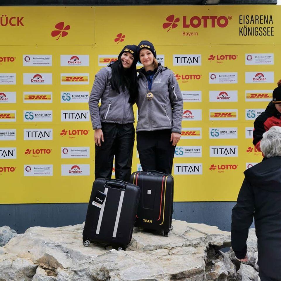 Andreea Grecu este numarul unu in Europa la Bob! 3 victorii in sezon!