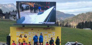 Tentea urca pe podium la Konigssee. Medalii in tandem cu Daroczi in Germania