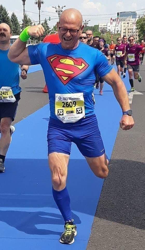 ultramaratonistul Cristi Borcan