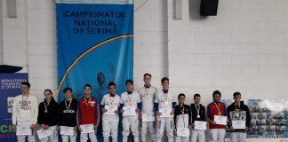 Steaua are echipa campioana la scrima, la juniori in proba de spada.