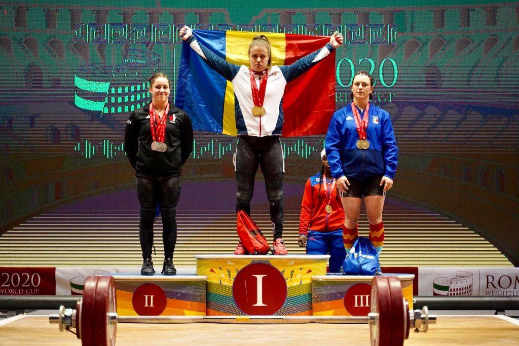 Loredana Toma e campioana la Roma! Trei medalii de aur la haltere