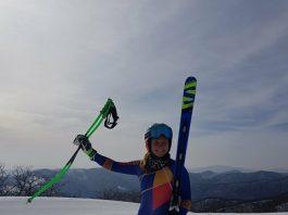 Evolutia Aniei Caill in Top 10 european. Punctele FIS pe care le aduna la schi alpin