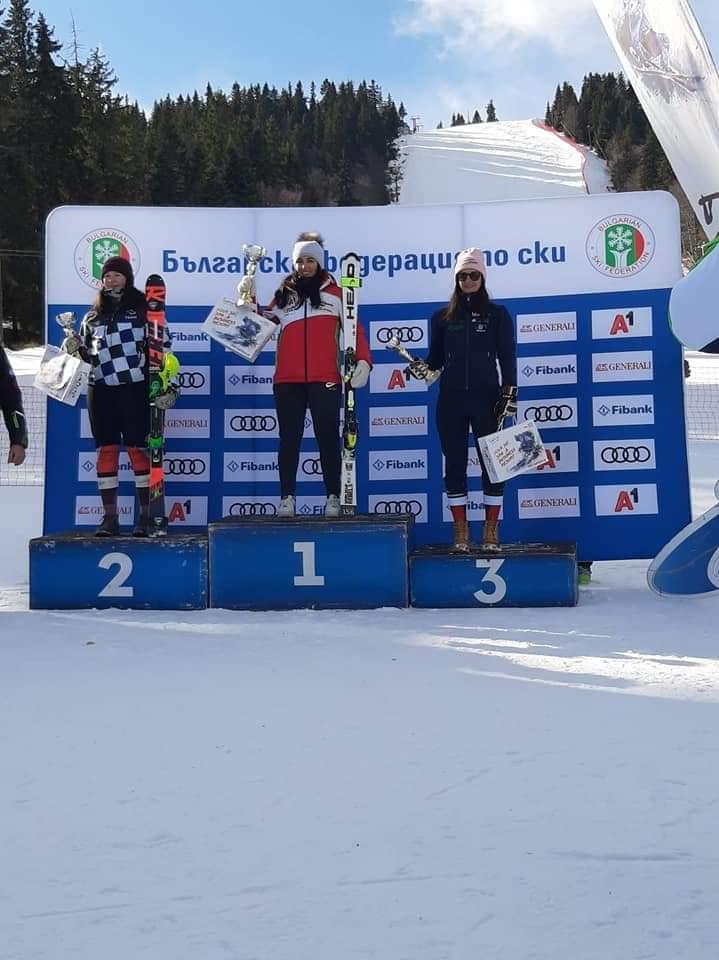 Schiorii clubului Nan fac sport de performanta! Benga urca pe podium in Bulgaria