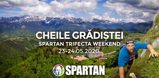 """Spartan Trifecta pregateste noul """"produs"""" al renumitului brand la Cheile Gradistei."""