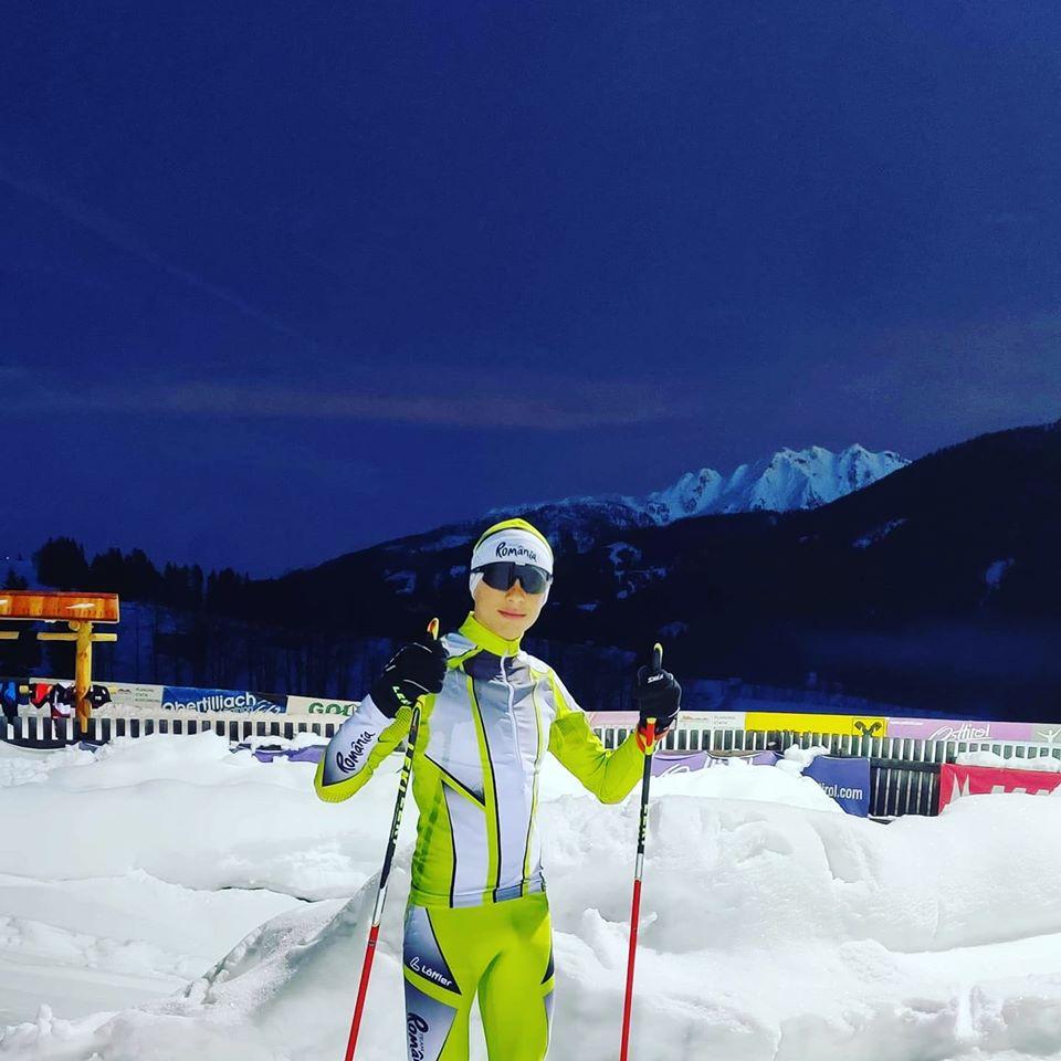 Raul Creciunescu e medaliat la schi clasic, liber. Evolutia sa in strainatate
