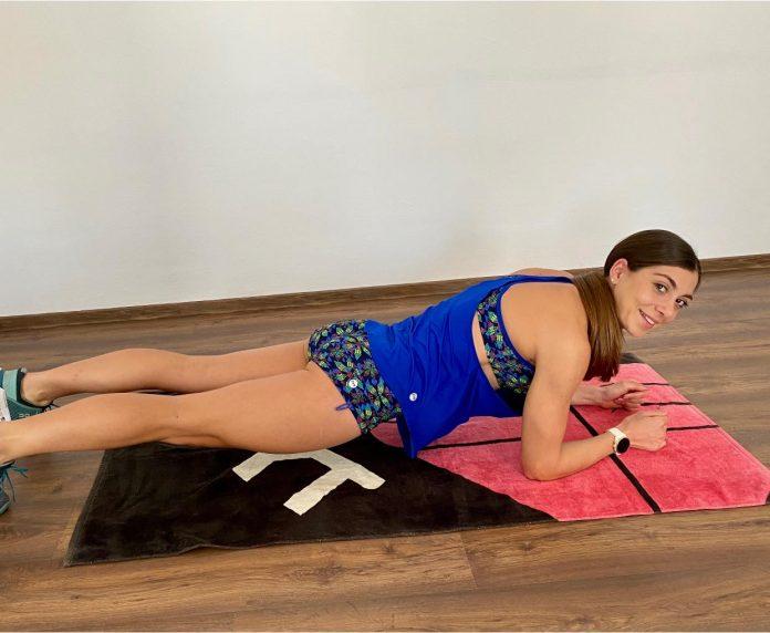 Antrenamentul Antoanelei Manac in izolare! Triatlonista e in forma