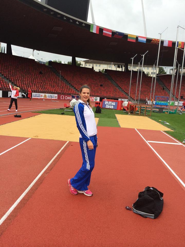 Alina Rotaru obtine cel mai bun rezultat al sezonului la saritura in lungime