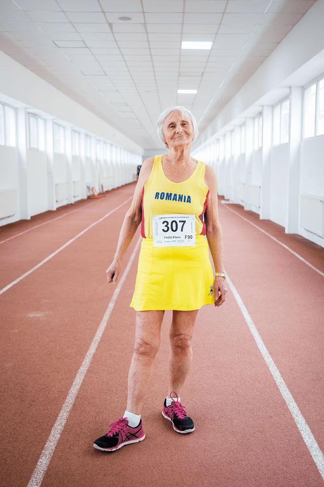 Elena Pagu dupa doua luni de criza de coronavirus. Peste doua luni implineste 95 de ani