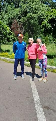 Adela Baltoi si Elena Pagu s-au intalnit la antrenament. Pregatiri in ritm normal