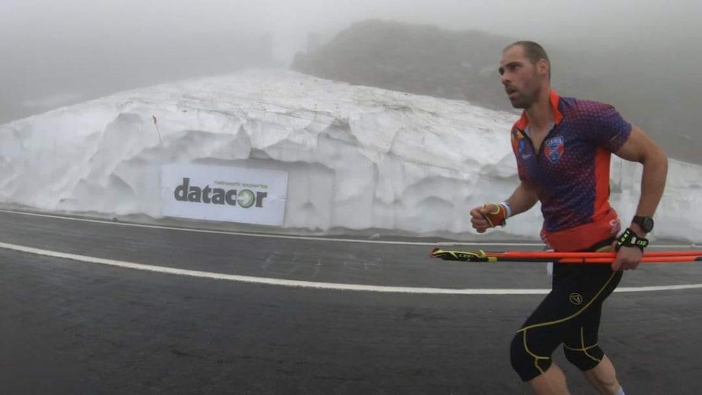 Viorel Palici e pe podium la Balea pe potecile muntilor Fagarasi