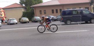 Catalin Romas a revenit pe bicicleta, in aer liber. Triatlonistul s-a antrenat acasa.