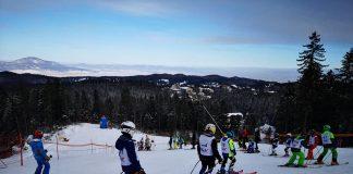 Premiere in vara la Mini Cupa României la Schi Alpin.Pandemia a stopat intrecerile