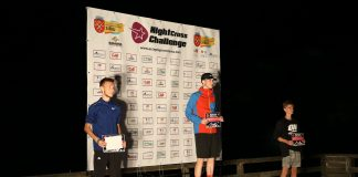 Peter Herman s-a clasat pe prima pozitie la Night Cross Challenge categoria 9 KM