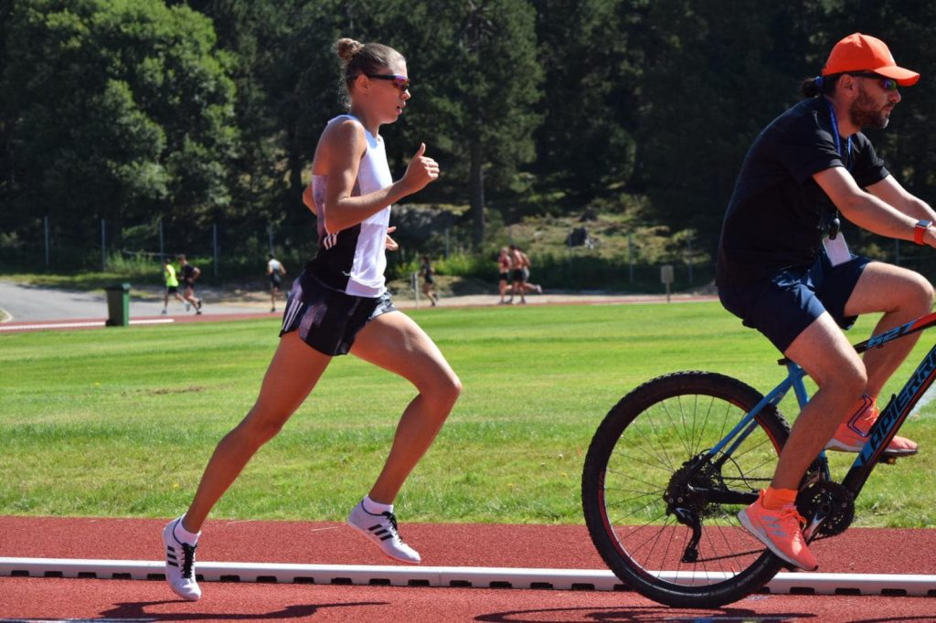 Claudia Bobocea face PB la 800 de metri in Cehia. Intrecere la Ostrava
