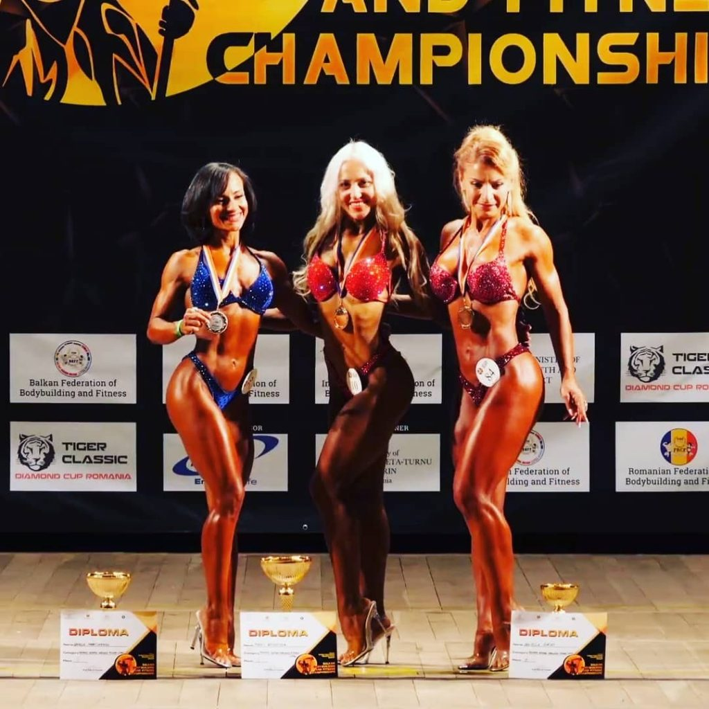 Daniela Martinescu este vicecampioana europeana Body Fitness Masters 35-44 ani!