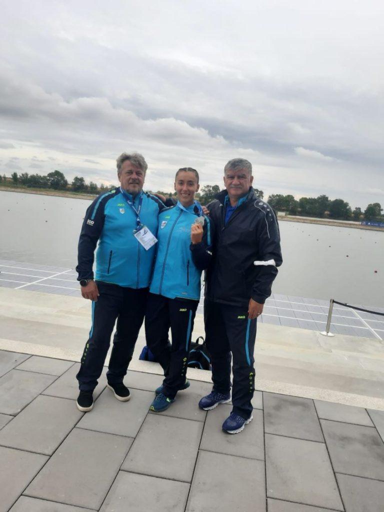 Stefanica Ursu vorbeste dupa cel mai bun rezultat din cariera la canoe