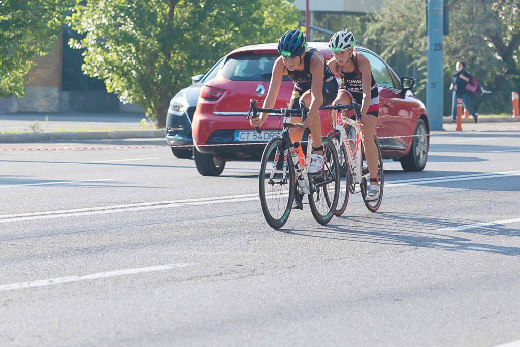 Casia Damian junioara numarul 1 la H3RO. Performanta in triatlon