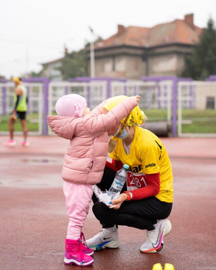 Liliana Maria Dragomir castiga la Timisoara. Semimaraton cu start din Otelec