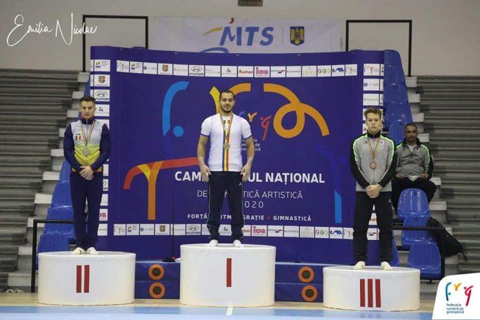 Medaliați la Campionatele Naționale de Gimnastică Artistică