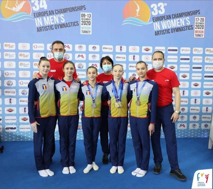 Ana Bărbosu este cea mai bună gimnastă junioară de la Campionatele Europene