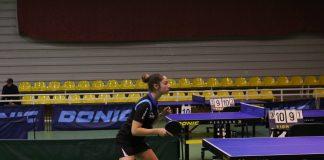 Daniela Barzoi a castigat Top 16 la Buzau. Declaratia jucatoarei de tenis de masa