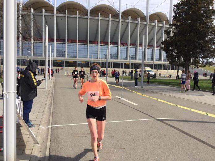 Atleta Mihaela Acatrinei de la CS Unirea Alba Iulia este cea mai bună sportivă