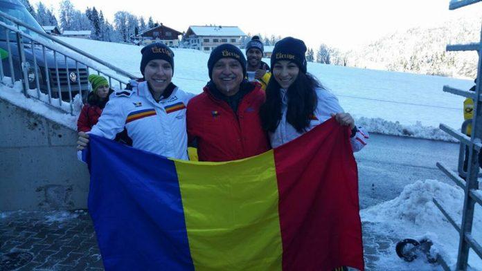 Maria Adela Constantin are 8 ani de bob în echipa României