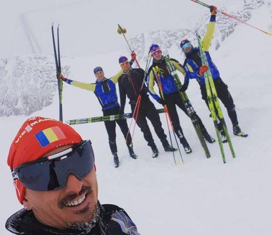 Podium integral românesc la schi 10 kilometri la Cupa Balcanică din Croația!