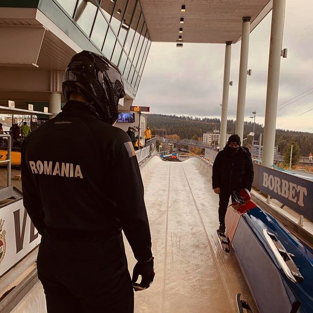 Ciprian Daroczi anunta un record pentru echipajul Romaniai de bob