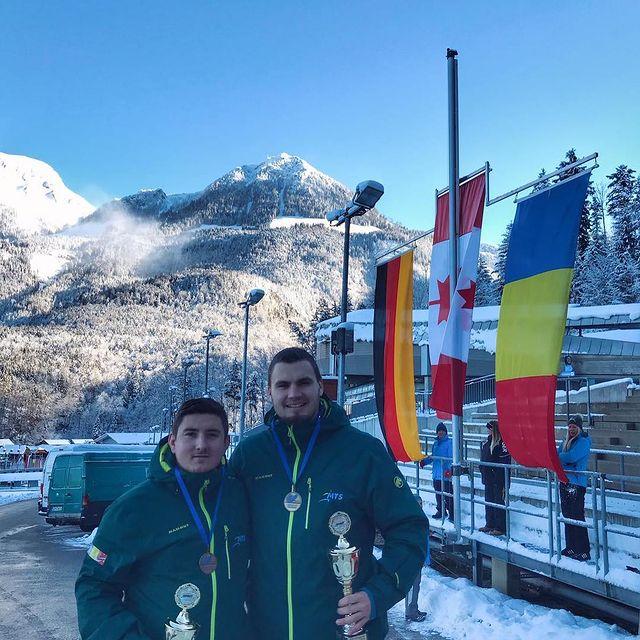 Ciprian Daroczi anunta un record pentru echipajul Romaniei de bob