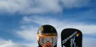 Mortila are cele mai multe victorii din Romania la Snowboard