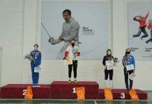 Scrimera Bianca Pascu a câştigat titlul de campioană naţională la sabie