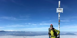 Mara Voicu a fost cea mai rapidă la schi la Parângul Night Challenge 2021