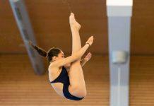 Cei mai buni sportivi la sărituri în apă din România. Întreceri la Bacău.