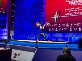 Loredana Toma a câștigat trei medalii de aur la Campionatele Europene de haltere