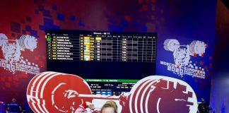Raluca Olaru a obţinut medalia de aur la Campionatele Europene de haltere.