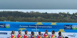 Medalii pentru România la Europenele de canotaj din Italia!
