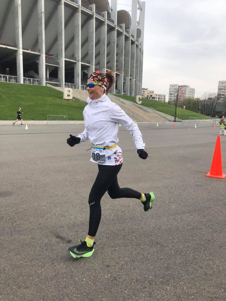 Regina Tircomnicu este campioana națională la întrecerea de 12 ore