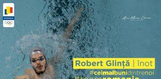 Robert Glință e vicecampion european într-o cursă cu nou record mondial
