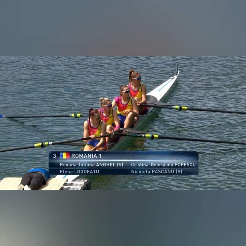 Performanță la Cupa Mondială de canotaj de la Lucerna:  6 medalii,una de aur