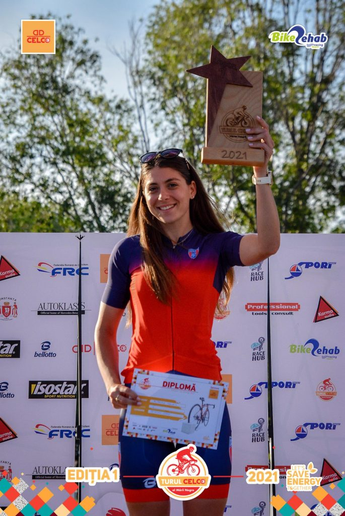 Antoanela Manac revine în concurs la Europe Triathlon Cup