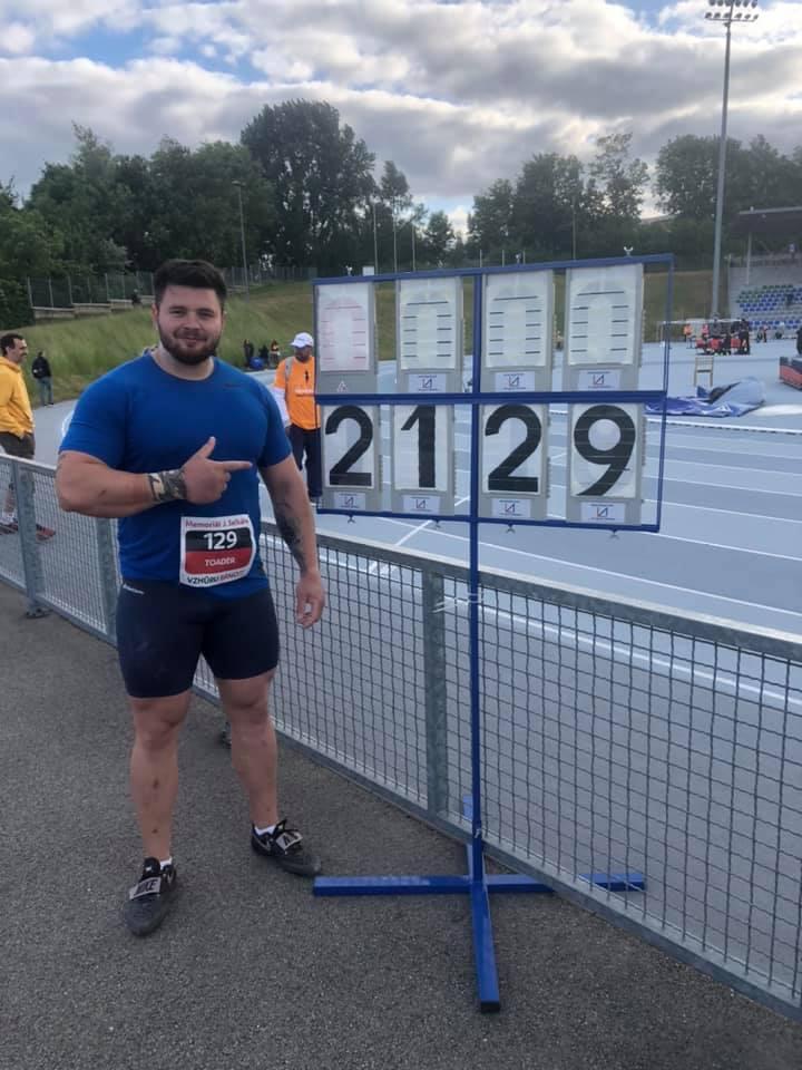 Calificare pentru Rareș Andrei Toader la Jocurile Olimpice după un record național