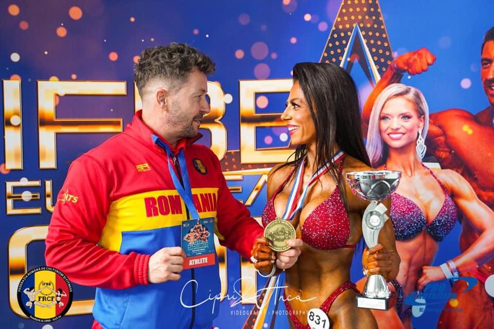 Costin Ilinca este mândru de Daniela Andrei! Tandemul campionilor!